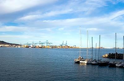 Las Palmas de Gran Canaria Hafen