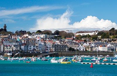 Guernsey Hafen
