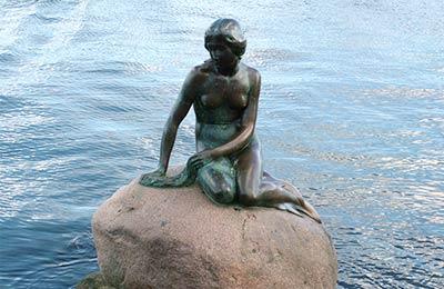 Die Kleine Meerjungfrau, Kopenhagen