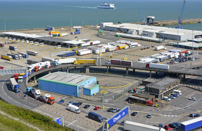 Calais nach Dover