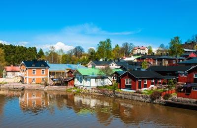 Fischerdorf, Finnland