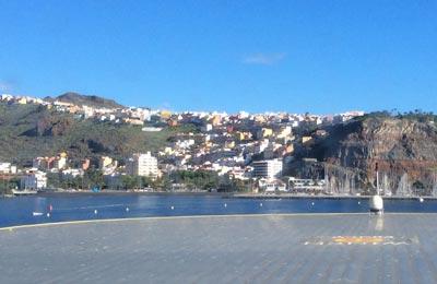 San Sebastien de La Gomera Hafen