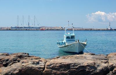 Chios Hafen