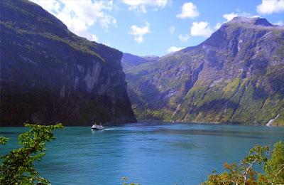 Fähren nach Norwegen