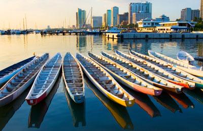 Cebu City Hafen