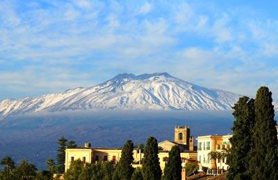 Mt Etna, Sizilien