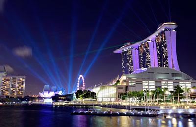 Singapur Harbourfront Hafen