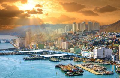 Tsushima nach Busan