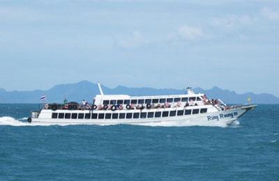 Krabi Town nach Phi Phi