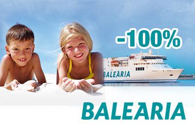 Kinder reisen kostenlos auf die Balearen!