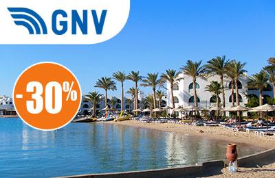 30% Rabatt auf Rückflüge nach Tunesien mit GNV!