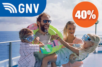 40% Rabatt auf Sizilien mit GNV